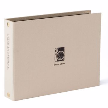 Billede af INSTAX MINI TWO RING ALBUM GOLD
