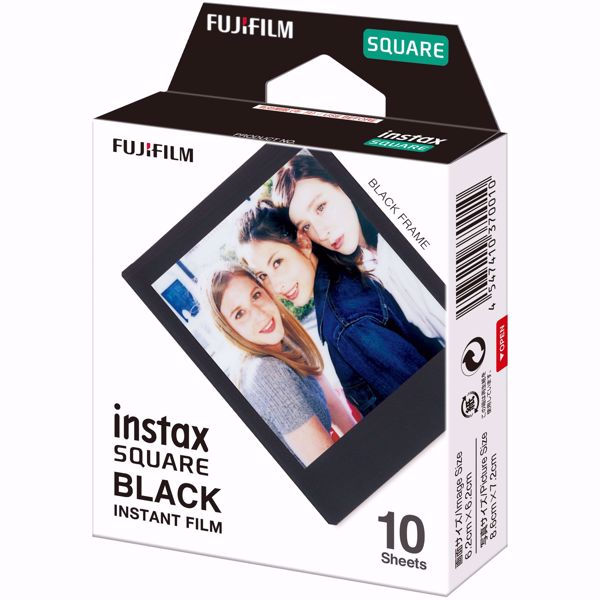 Picture of INSTAX SQUARE FILM BLACK FRAME