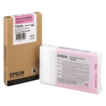 Picture of 939027/T6036 Epson bläck 220ml vivid light magenta
