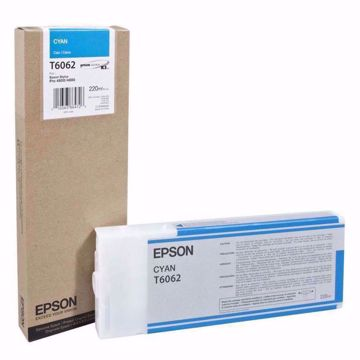 Picture of 939045/T6062 Epson bläck 220ml cyan