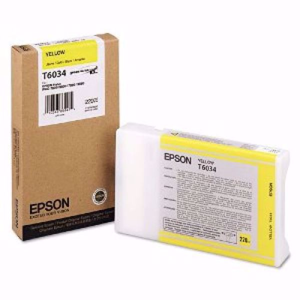 Picture of 939065/T6034 Epson bläck 220ml yellow 78/98