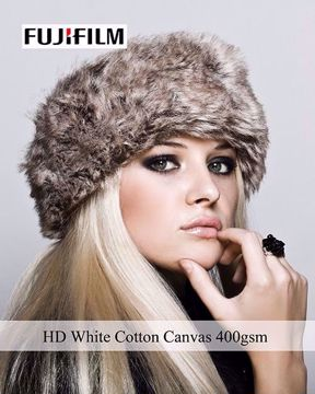 Bild på EPS HD WHITE COTTON CANVAS 1118MMX12M