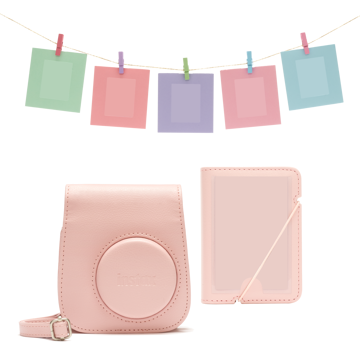 Picture of INSTAX MINI 11 ACCESSORY KIT BLUSH-PINK