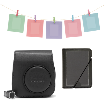 Picture of INSTAX MINI 11 ACCESSORY KIT CHARCOAL-GREY
