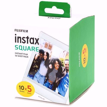 Picture of INSTAX SQUARE FILM (10X5/PKT)